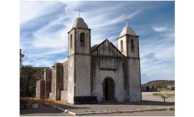mission San Luis Gonzaga comondu